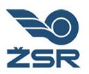 Železnice Slovenskej republiky a.s. (Zvolen) Szlovák Állami Vasúttársaság (Zólyom)